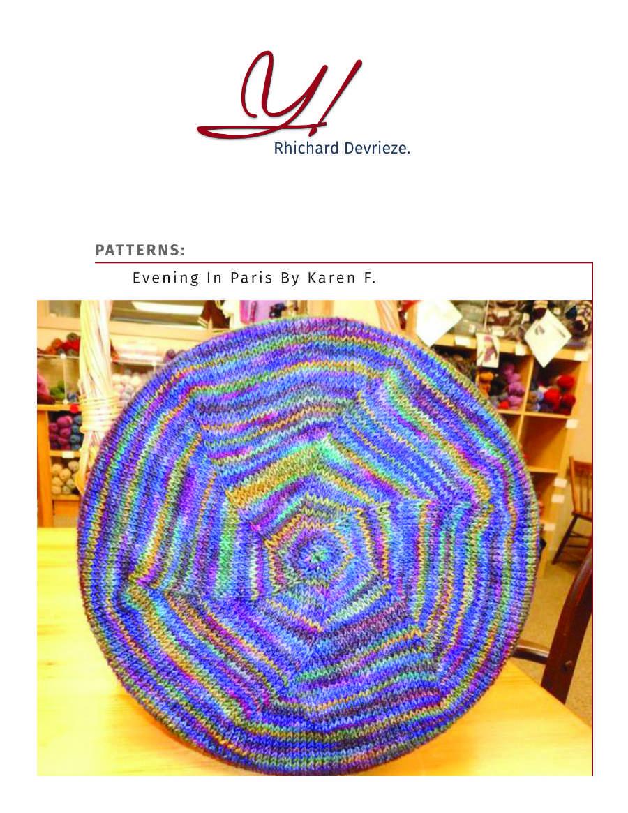 Pattern | EVENING IN PARIS