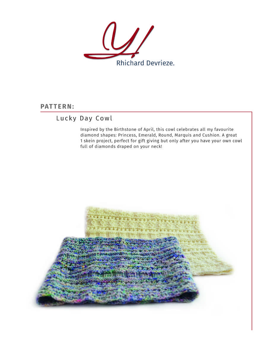 Pattern | LUCKY DAY COWL